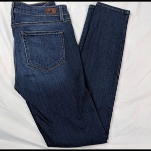 Paige Denim Edgemont Moto Skinny Jeans Sz. 28